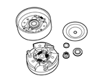 All parts for the clutch, Gilera Citta