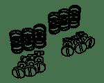 Mounting material Vespa Ciao | Vespa SI