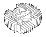 Kreidler  – Cyliner and Cylinder heads