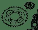 Chains & Sprockets Zundapp 517 | 529 | 530