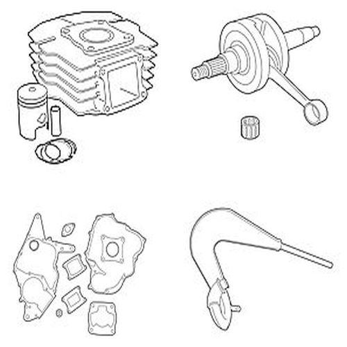 Honda Cylinders, Carburetors, Bearings, Exhausts & More