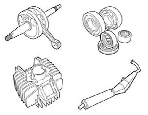 Tomos Engine parts