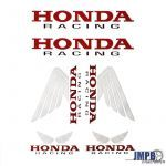 Stickerset Honda Racing 6-Pieces