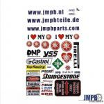 Stickerset JMPB Yamaha