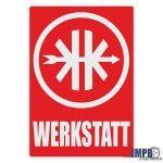 Werkstatt Sticker Kreidler Deutsch