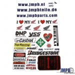 Stickerset JMPB Honda