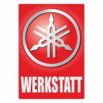 Werkstatt Sticker Yamaha Deutsch