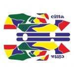 Stickerset Gilera Citta Funny Purple