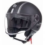Helmet Jet Street Entire MT Matt Black