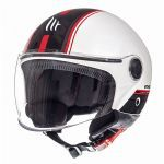 Helmet Jet Street Entire MT White/Red