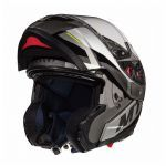 Helmet System MT Atom Transcend SV Black Gloss/Matt Grey