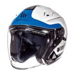 Helmet Jet Avenue Crossroad MT White/Blue