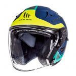 Helmet Jet Avenue Crossroad MT Blue/Green