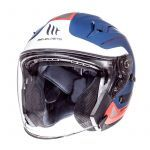 Helmet Jet Avenue Crossroad MT Blue/Red