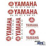 Stickerset Yamaha Racing 6 pieces