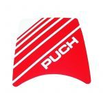 Sticker Headlight spoiler Puch Maxi Red