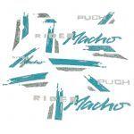 Stickerset Puch Rider Macho '91 Green