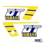 Stickerset Yamaha DT50MX Yellow/Blue