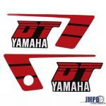 Stickerset Yamaha DT50MX Red/Black