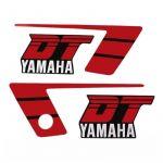 Stickerset Yamaha DT50MX Red/Black