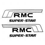 Battery box Stickers Kreidler RMC Super Star