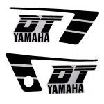 Stickerset Yamaha DT50MX Black/White