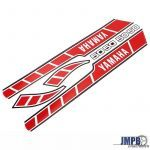 Stickerset Yamaha RD50M Red/White