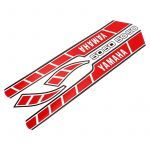 Stickerset Yamaha RD50M Red/White