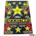 Stickerset FX Rockstar Energy 50X35CM