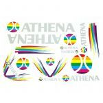 Stickerset Athena 13-Parts
