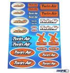 Stickerset Twin Air 26-Pieces