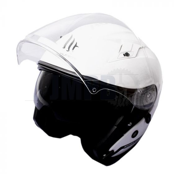 Helmet Jet Avenue MT White Gloss
