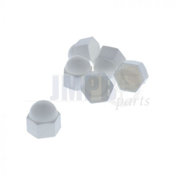 Cover M12 Hex nut White A piece