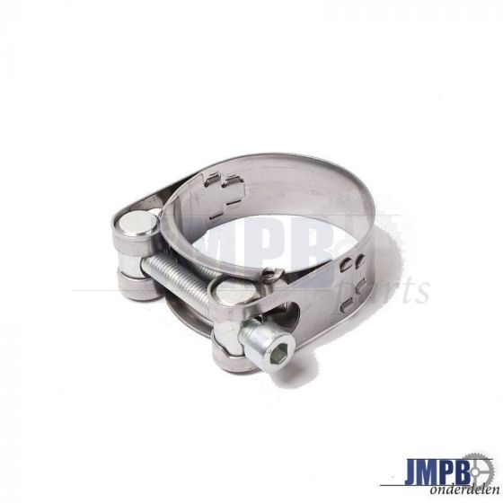 Exhaust clamp SS 43-47MM Zundapp KS80